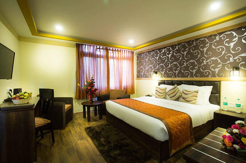 Deluxe Room at Hotel New Orchid, Gangtok