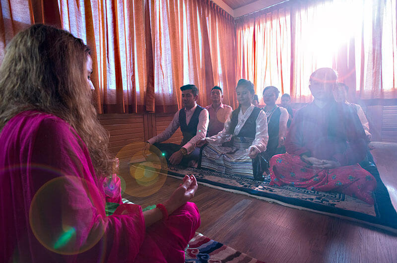Hotel New Orchid - Tibetan yoga classes for the Guests